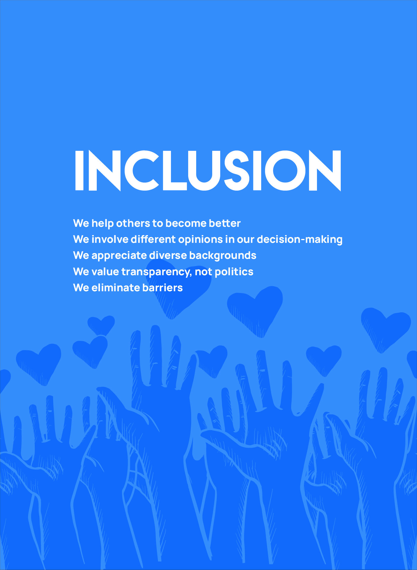 dirico value: Inclusion
