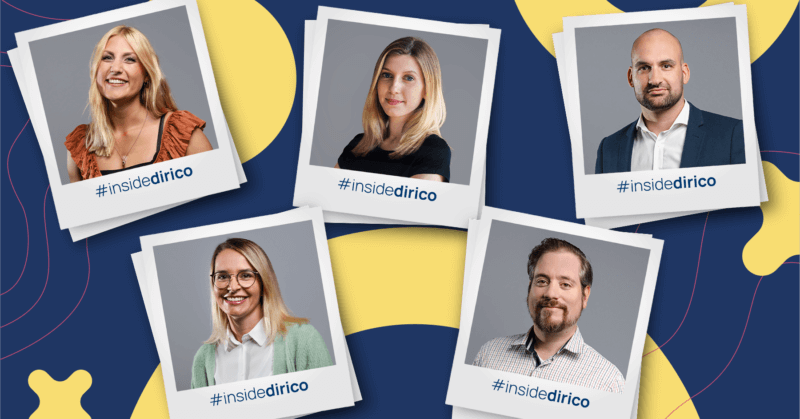 Das Customer-Success-Team von dirico